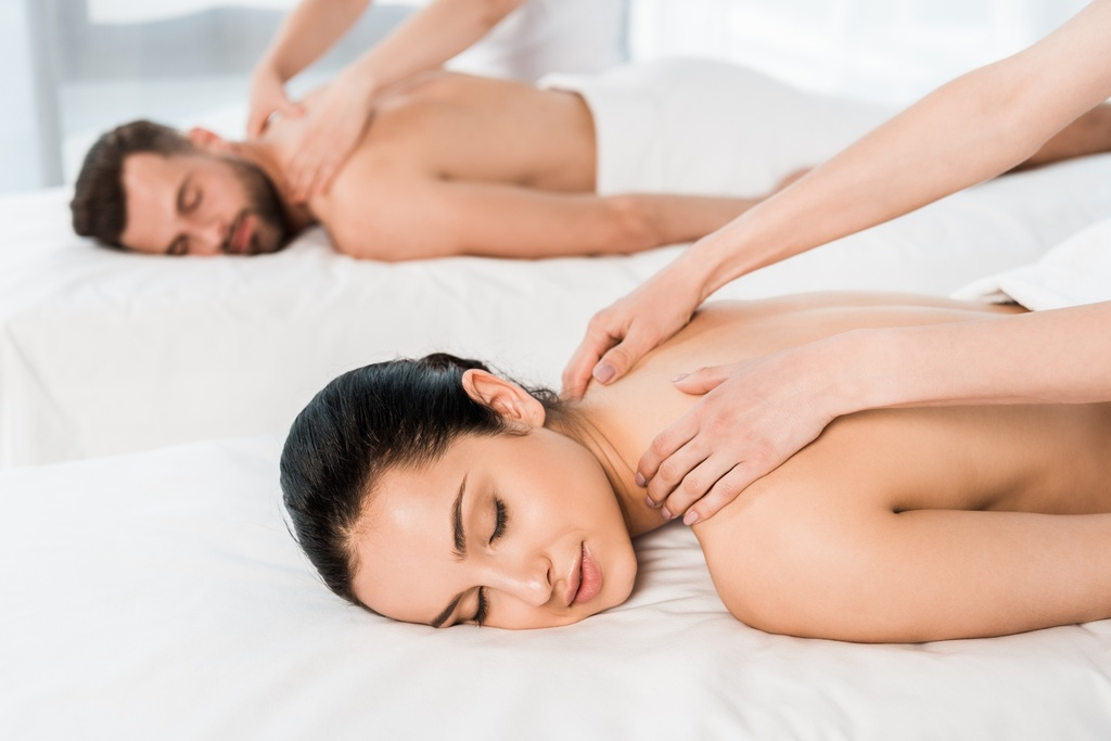 Manual Relaxing Body Massage for TWO